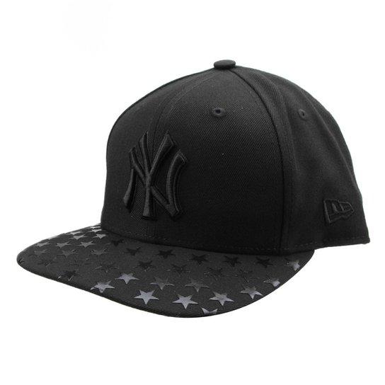 19801e7b7dc25 Boné New Era MLB New York Yankees Aba Reta Stellar - Compre Agora ...