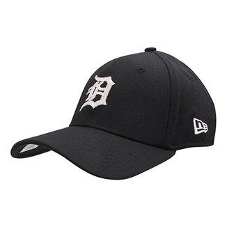 Boné New Era MLB Detroit Tigers Aba Curva 3930 Chain Stitch Stretch 1d5aeecef11