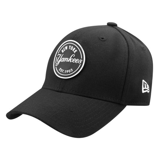 Boné New Era MLB New York Yankees Aba Curva 3930 Lic997 Su17 - Preto 4694699b1e69