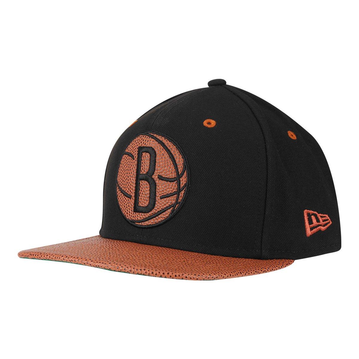 e0895df267114 Boné New Era NBA Brooklyn Nets Aba Reta Basketball