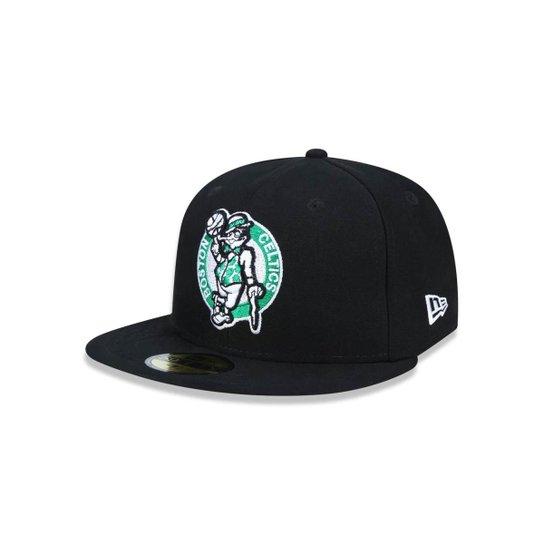 Boné 5950 Boston Celtics NBA Aba Reta New Era - Compre Agora  8eb544d1dd7
