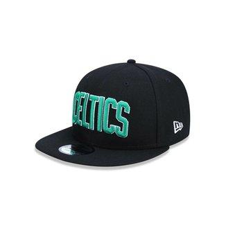 Boné 950 Boston Celtics NBA Aba Reta Snapback New Era ceb4e6b45ce