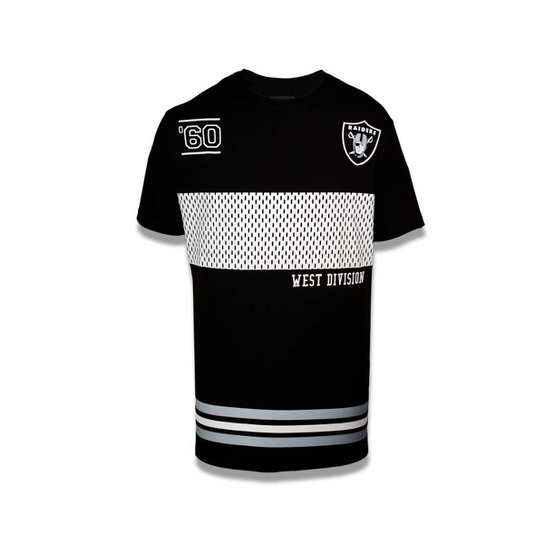 Camiseta Oakland Raiders NFL New Era Masculina - Compre Agora  83f8b07814f