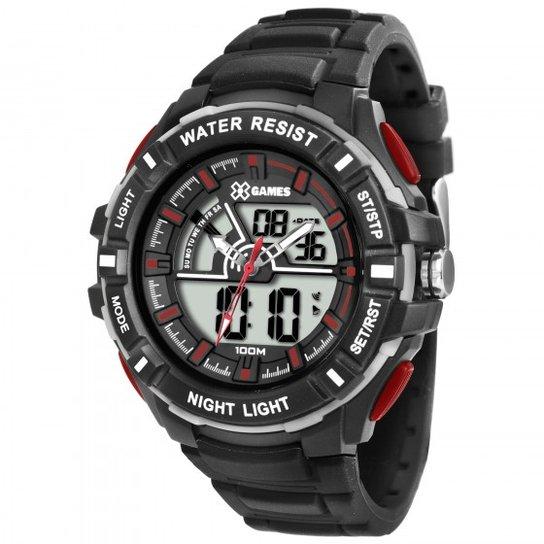 03c3db2e83a Relógio XGames XMPPA189 BXPX - Preto - Compre Agora