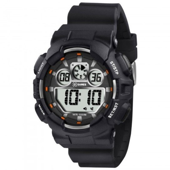 e96c24e29cb Relógio XGames XMPPD345 BXPX - Preto - Compre Agora