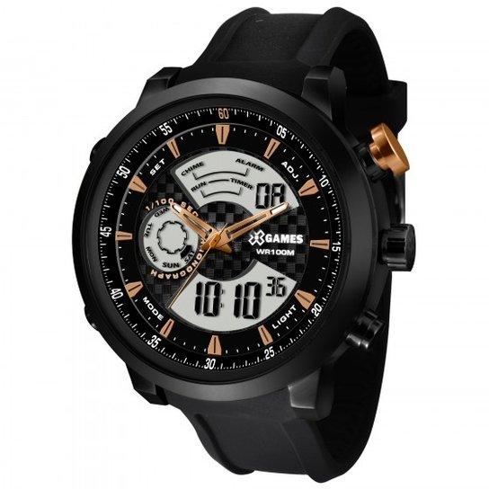 de911b99dbd Relógio XGames XMSPA017 P2PX - Preto - Compre Agora