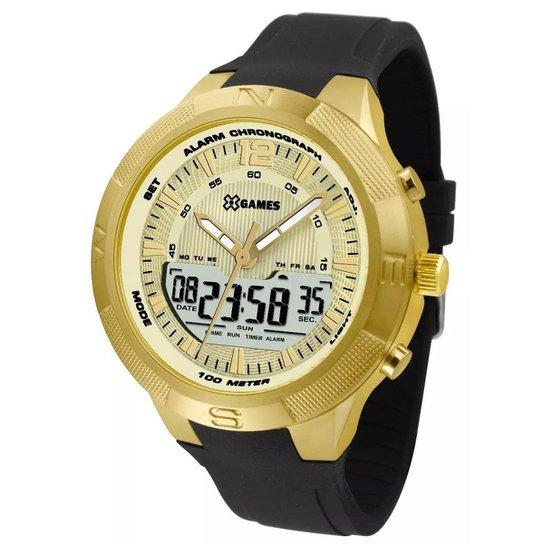 ad1db01e67c Relógio Masculino X-Games Xmgpa003c2px - Preto - Compre Agora
