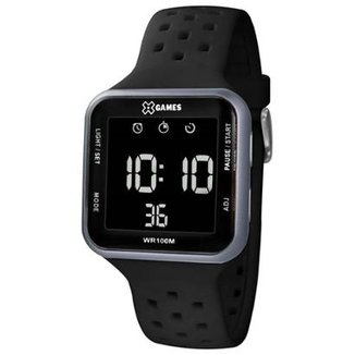 35d43a1fa7b Relógio Masculino X Games Retangular Digital Xgppd