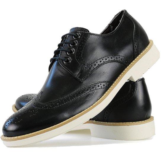 6a1ffc852d Sapato Social Oxford Casual Masculino - Preto - Compre Agora