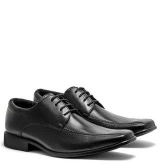 f313cc91fa Sapato Social em Couro D R Shoes Masculino