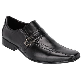 e8704e0e3 Sapato Social Masculino Fivela Couro Legítimo Leoppé