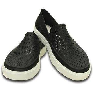 86bbdceec Slip On Crocs Citilane Roka Original Black Masculino