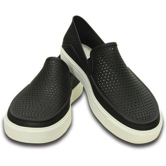 444858530 Slip On Crocs Citilane Roka Original Black Masculino - Preto | Zattini