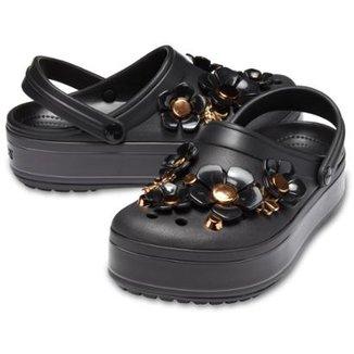 dc2ce0986e5 Crocs Platform MetallicBlooms Feminino