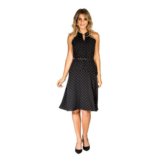 85b4c0403 Vestido Mídioá Lucidez - Preto - Compre Agora | Zattini