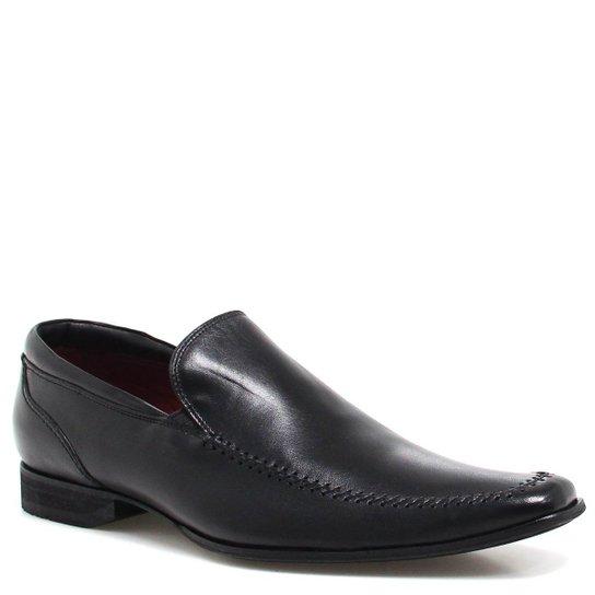 a35f54987 Sapato Zariff Shoes Social Loafer - Preto - Compre Agora   Zattini