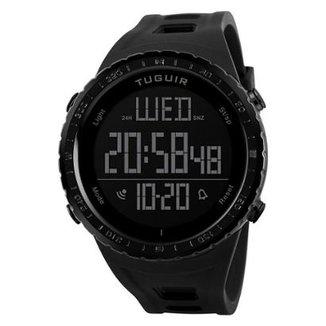 031592664df Relógio Masculino Tuguir Digital TG1246