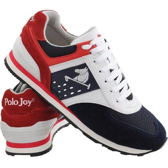 Tênis Masculino Moderno em Couro Polo Joy - Compre Agora  9a9a0aa85f7ce