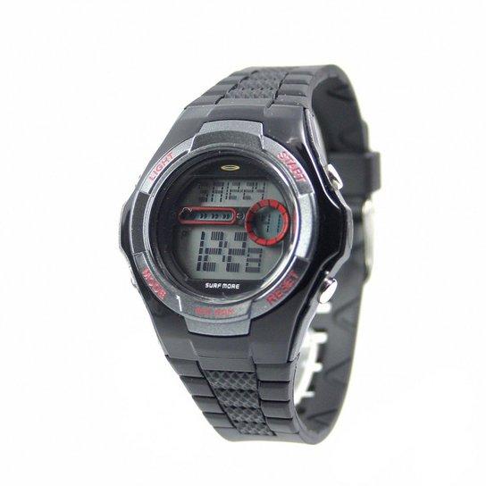 1b5c10f6349 Relógio Surf More PR Feminino - Preto - Compre Agora
