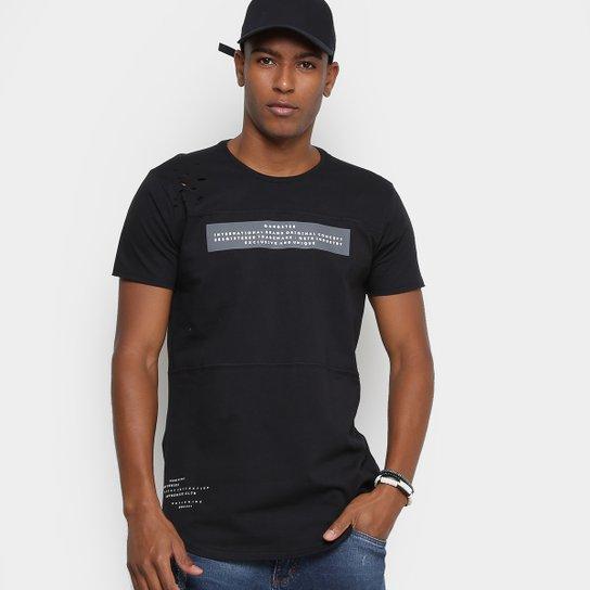 Camiseta Gangster Swag com Zíper Lateral Masculina - Compre Agora ... f58f8606254
