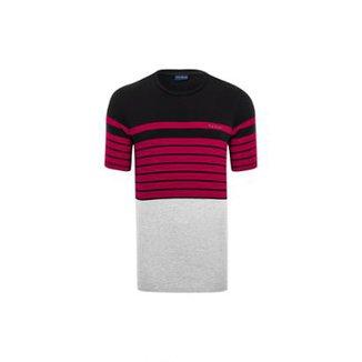 020e628cb7 Camiseta Pierre Cardin Listradora Black
