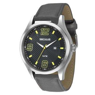 3763f9d4ab2 Kit Relógio Masculino Seculus Analógico Pen Drive Chaveiro