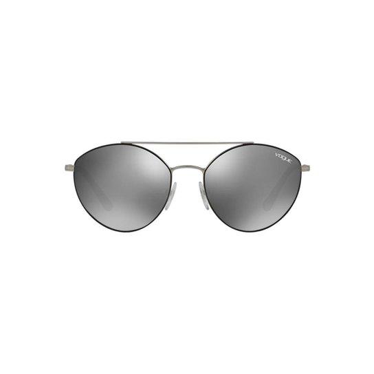 d402be73c592e Óculos de Sol Vogue Irregular VO4023S Feminino - Preto - Compre ...