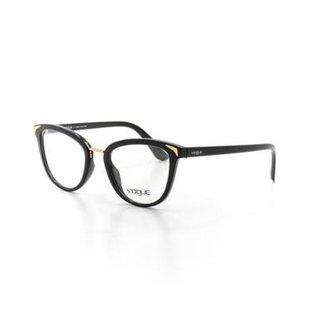 3aed32dedc1d6 Armação De Óculos De Grau Vogue 5231 T 51 C W44 Metal Feminino