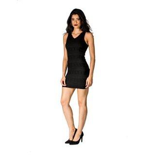 Vestido Slim Jacquard Handbook eab35217e05