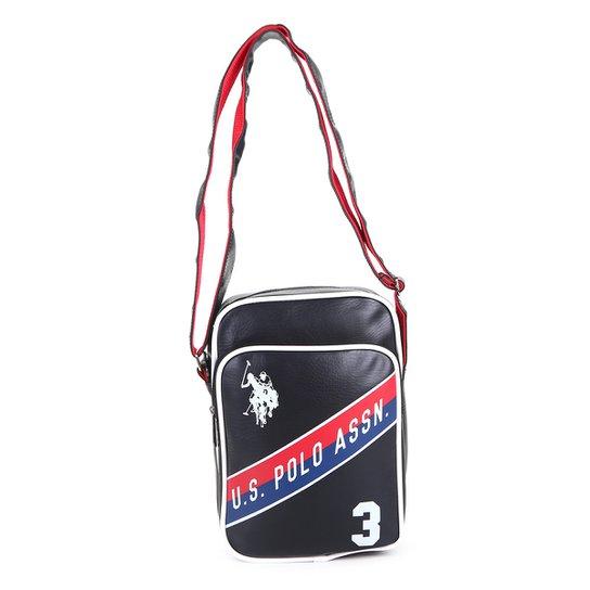 359a6606d63 Bolsa U. S. Polo Assn Mini Bag Masculina - Preto - Compre Agora ...