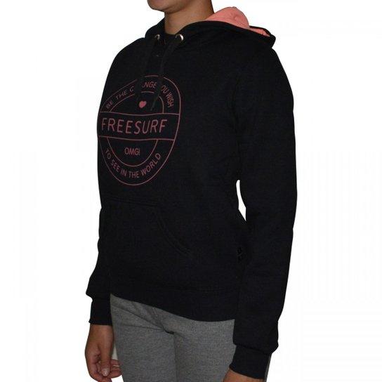 Moletom Free Surf World - Compre Agora  ce15da3c68d