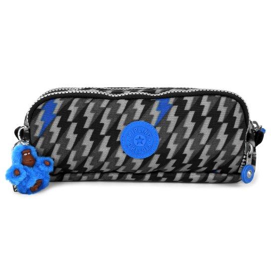 a5ac0c602 Estojo Kipling Gitroy - Preto+Azul