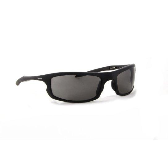 Óculos de Sol Carrera Esportivo Acetato Dobrável Fosco Masculino - Preto 2f0e2eb1cc