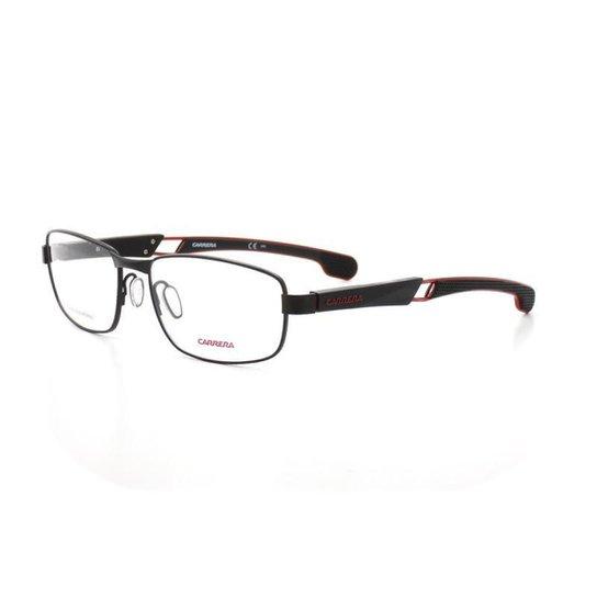10b102fd451bf Armação De Óculos De Grau Carrera 4405 V T 56 C 003 Masculino - Preto