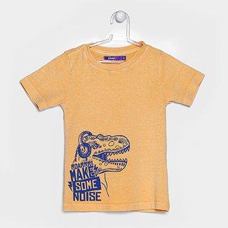 Camiseta Infantil Zeep! Estonada Silk Dino Masculina 1414d356af921