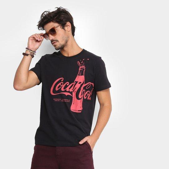51e746eedc Camiseta Coca-Cola Garrafa Masculina - Compre Agora