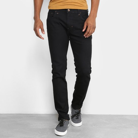 48fc318bd Calça Jeans Skinny Coca-Cola Masculina - Preto   Zattini