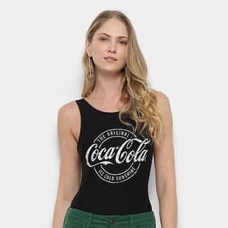 Body Coca Cola Feminino Estampado-423200205