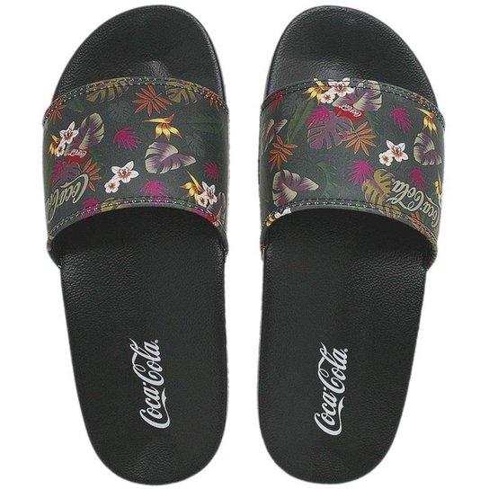 7bb62c2d6 Chinelo Coca Cola Slide Tropicoke Forest Feminino - Compre Agora ...