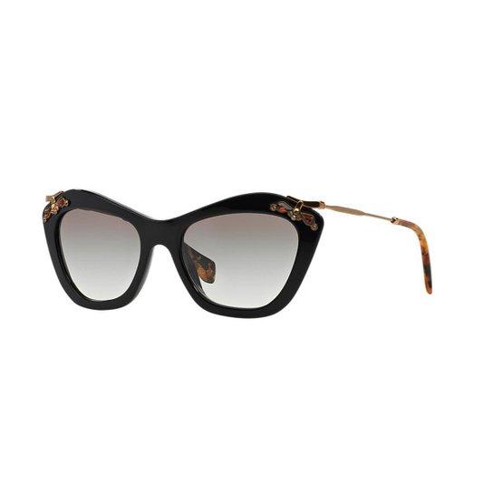 Óculos de Sol Miu Miu MU 03PS - Compre Agora   Zattini bcc54a7e7c