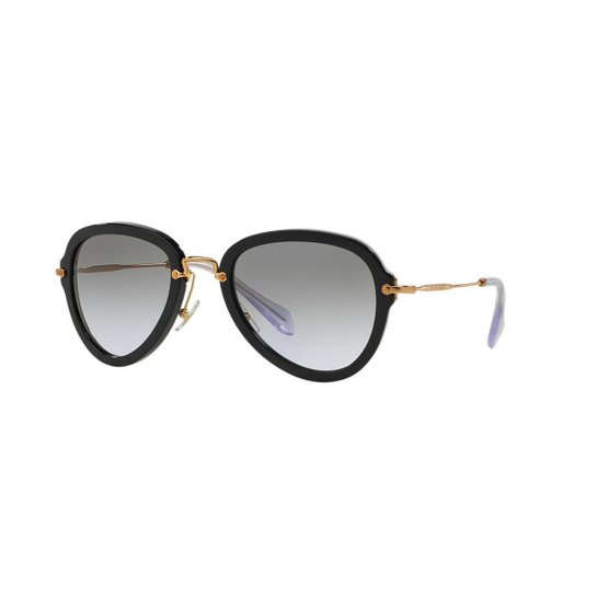Óculos de Sol Miu Miu MU 03QS - Compre Agora   Zattini 985b789de0