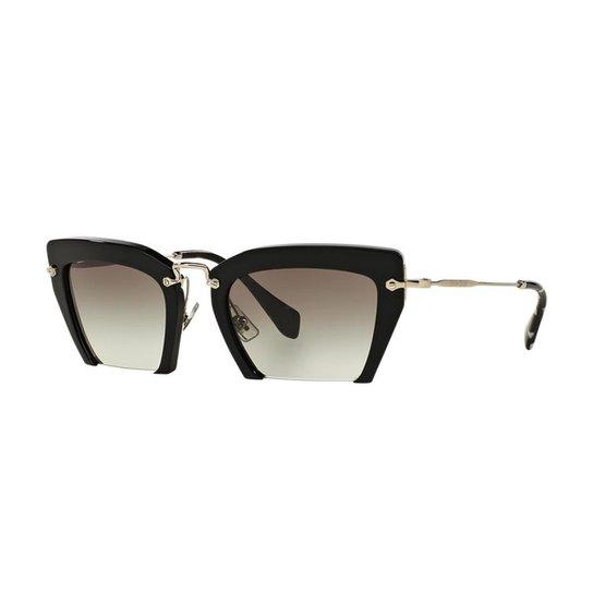 Óculos de Sol Miu Miu MU 10QS - Compre Agora   Zattini 5f829353d4
