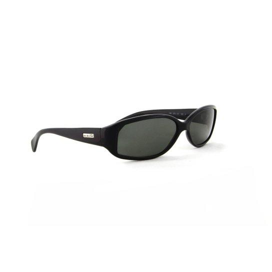 Óculos de Sol Jean Monnier Acetato Detalhe Metal - Preto - Compre ... aef249cde4