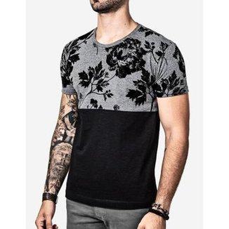 Camiseta Hermoso Compadre Meio a Meio Eco Masculina 67c3432d974fd