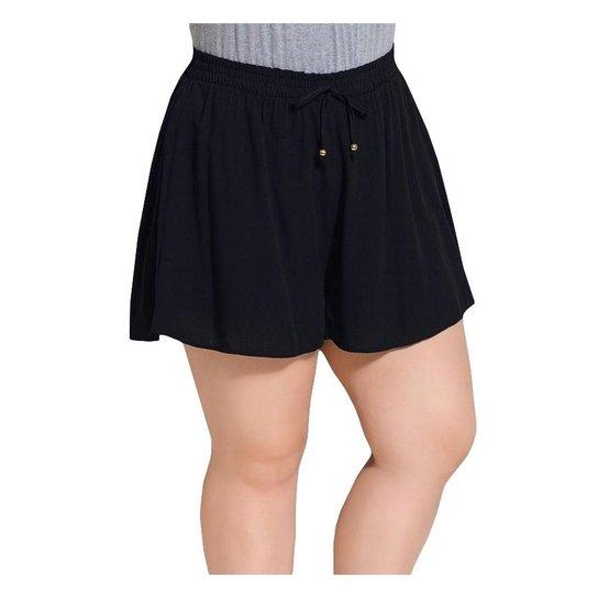 775a1668c Short Soltinho Quintess Plus Size - Compre Agora