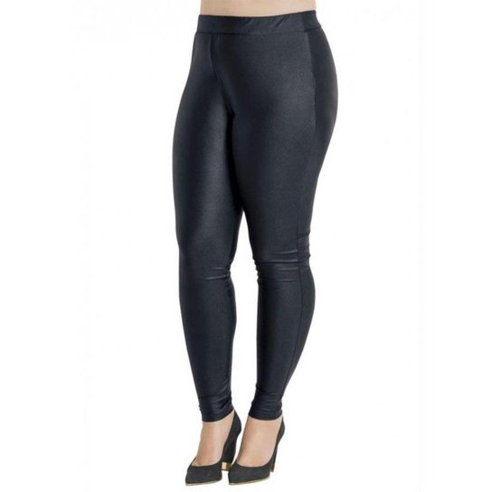 9cb74635c Calça Beline Plus Size Legging Efeito Brilhante Quintess | Zattini