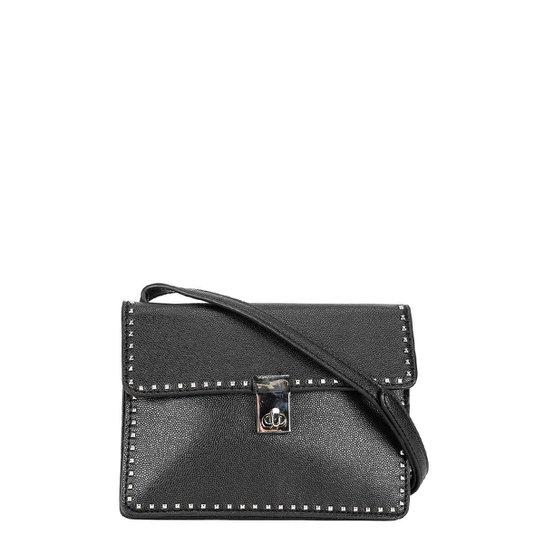 043120acb5 Bolsa Santa Lolla Mini Bag Rebites Feminina - Preto - Compre Agora ...