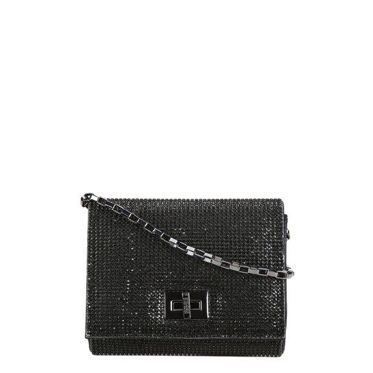 ae45ee3ad5 Bolsa Santa Lolla Mini Bag Cristal Feminina - Preto - Compre Agora ...