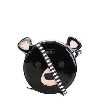 5e654ab94 Bolsa Santa Lolla Mini Bag Alça Transversal Urso Feminina