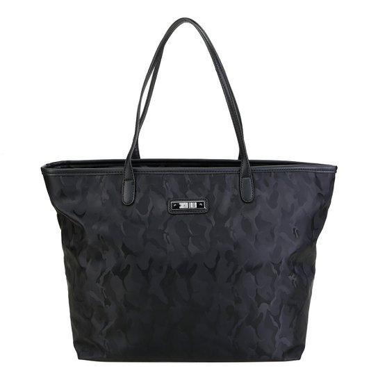 92a960090 Bolsa Santa Lolla Shopper Camuflada Feminina - Preto | Zattini